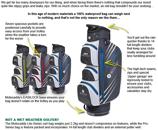 Motocaddy Dry Series