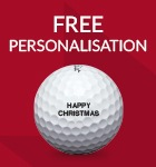 Titleist ball personalisation - from £19.99