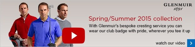 Glenmuir Spring Summer 2015 clothing