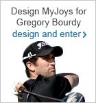 Design a pair of MyJoys for Gregory Bourdy