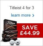 Titleist 4 for 3 2016 - £44.99