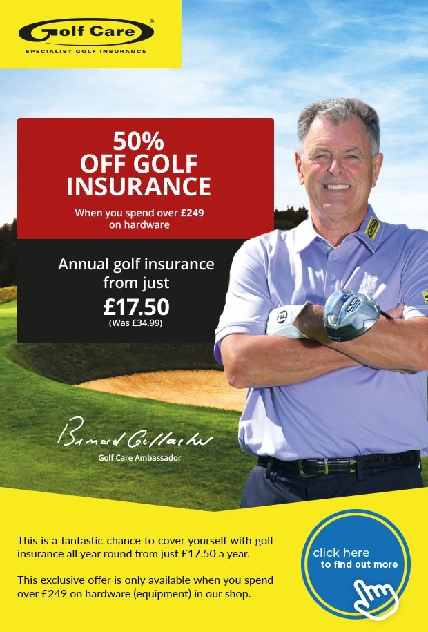 50% off Golf Insurance with Golf Care