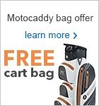 Free cart bag with a MotocaddyS7 REMOTE