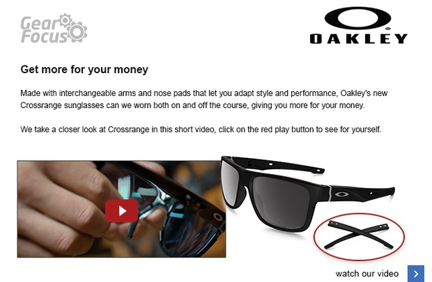Get more for your money with Oakley