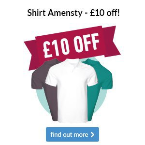Shirt Amnesty -£10 off a new shirt